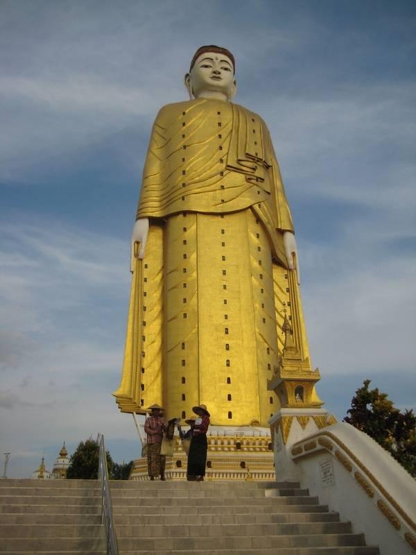 The tallest Buddha in Myanmar