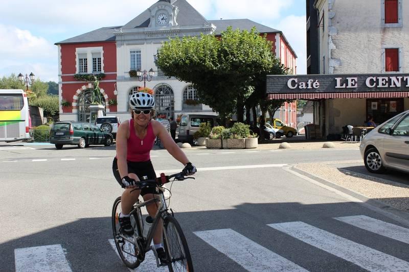 Arriving in Pontacq