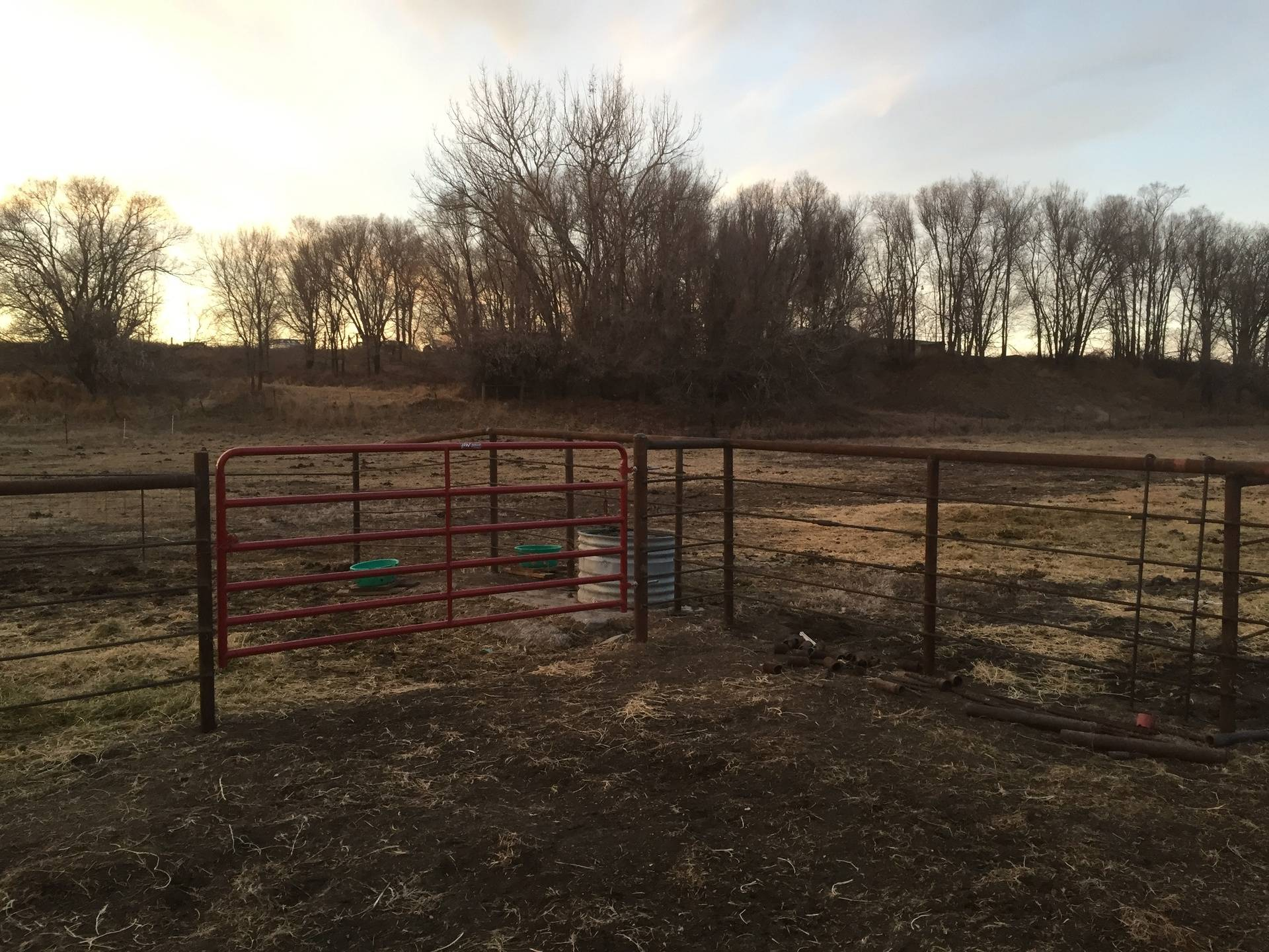 custom pipe, corral, and arena work