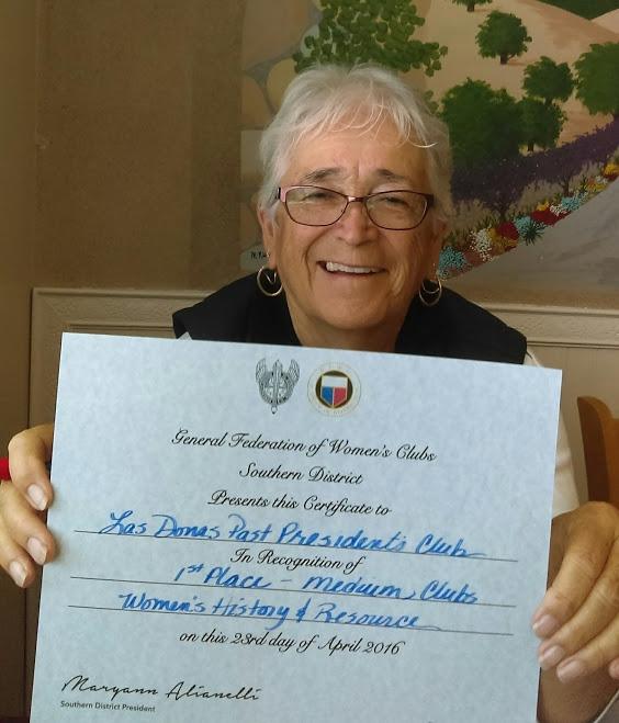 Las Donas Past President's Club