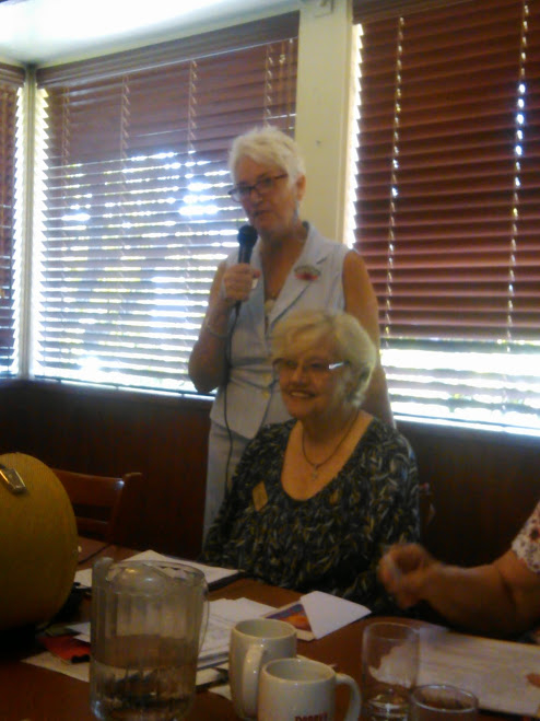Las Donas Past President Woman's Club