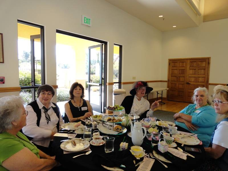 GFWC East County Junior Woman's Club Tea