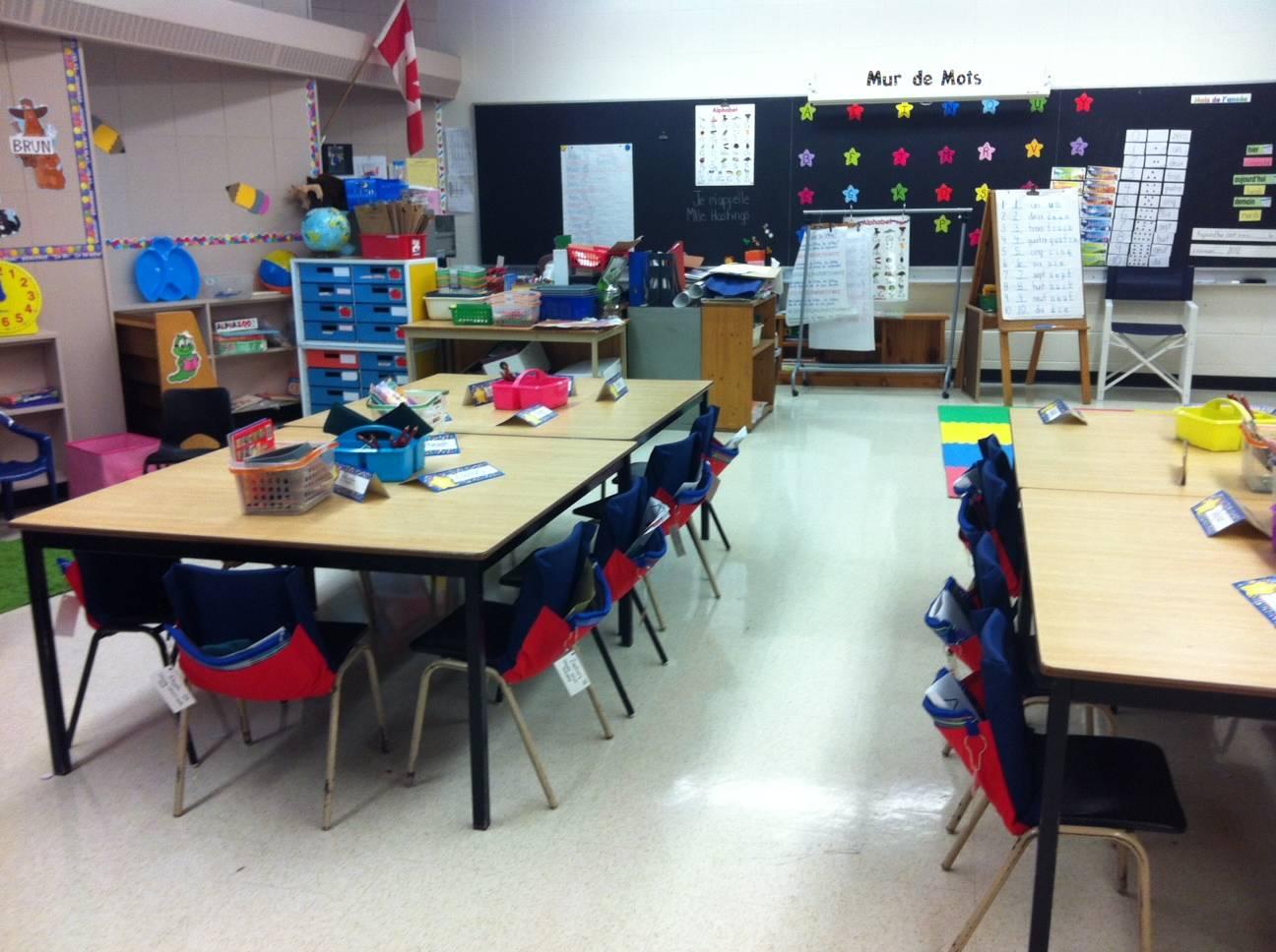 Laura's classroom