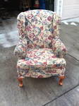 Wingback Chair-before