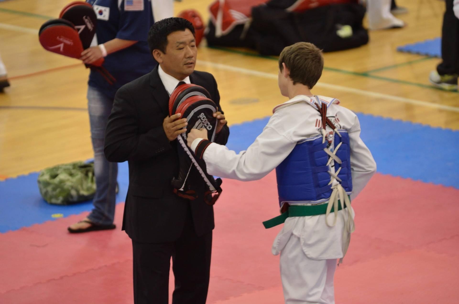 Master Choe and Jake