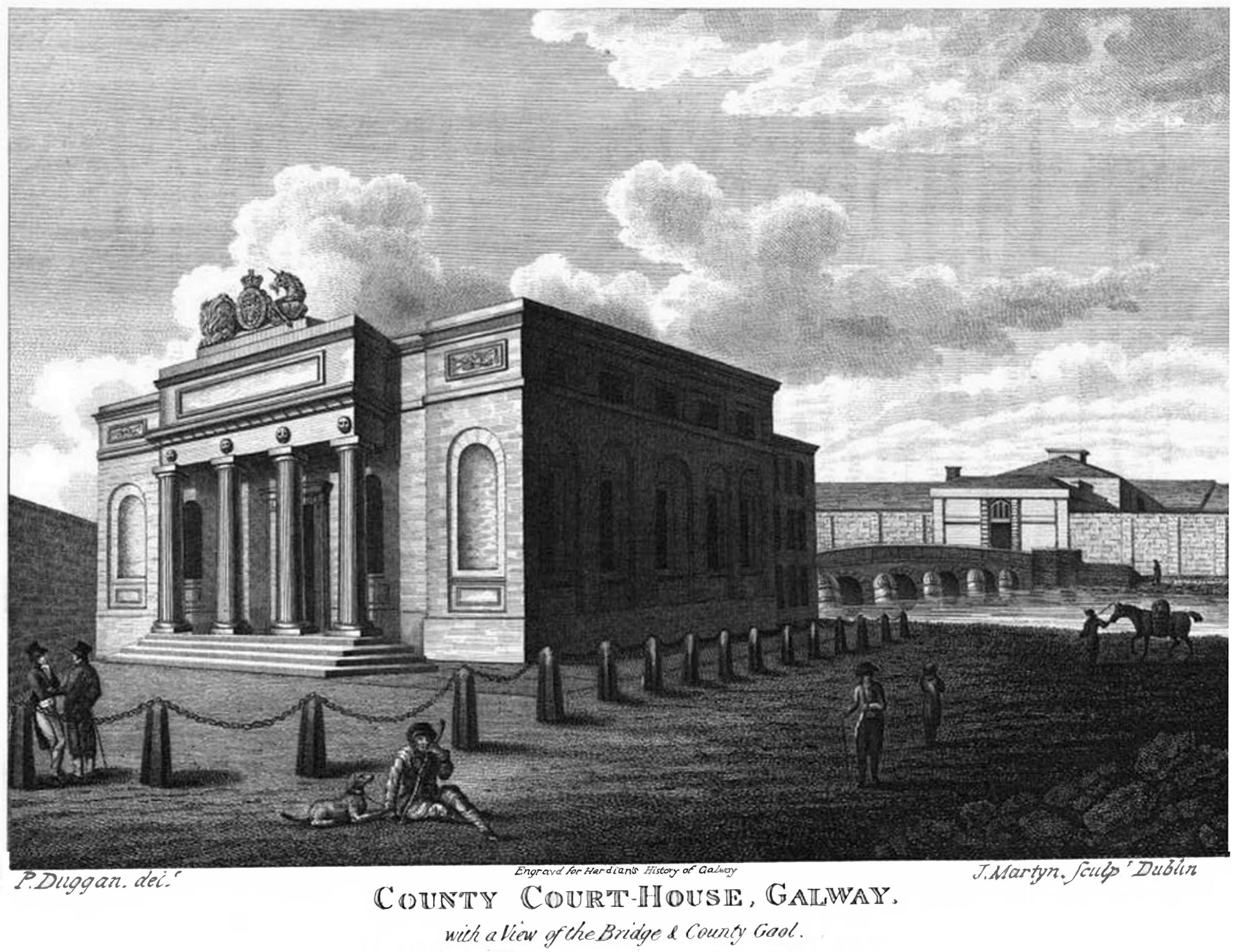 County Court-house, New Bridge and Gaol  of Galway