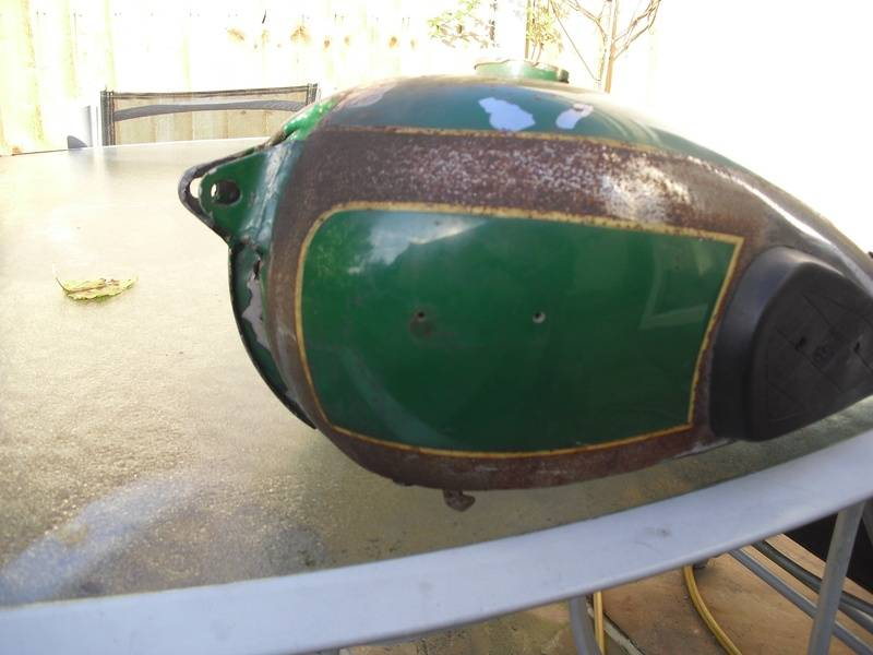 BSA B31 Before restoration