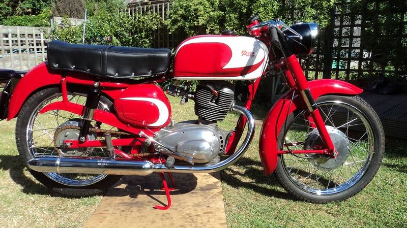 Moto Morini Tresette 1960
