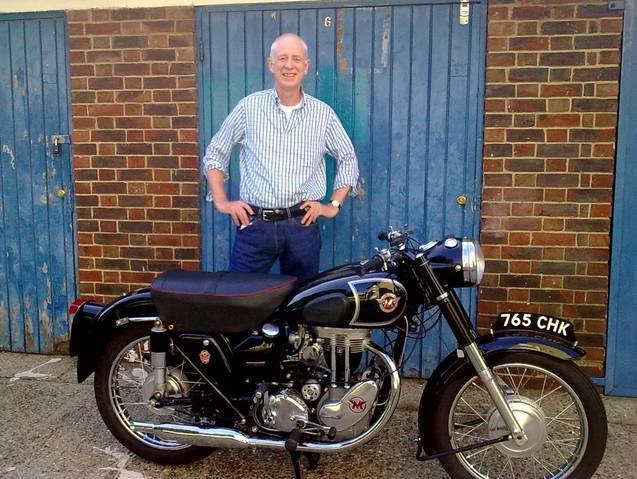 Matchless G3LS Restored for Andy Donald
