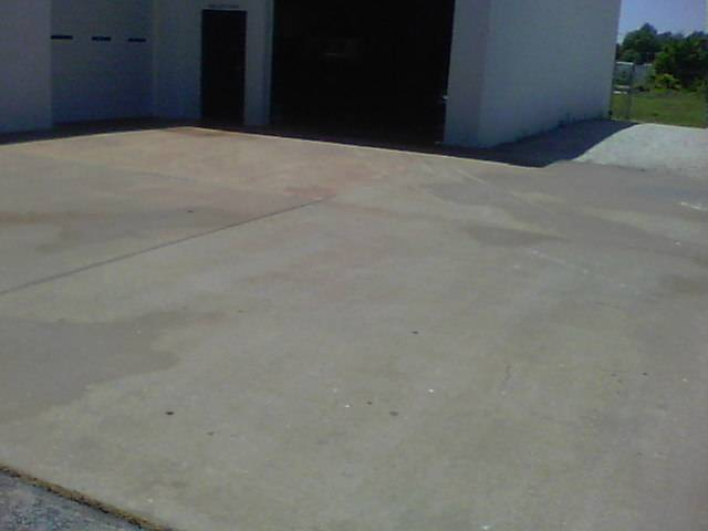 Business concrete cleaning