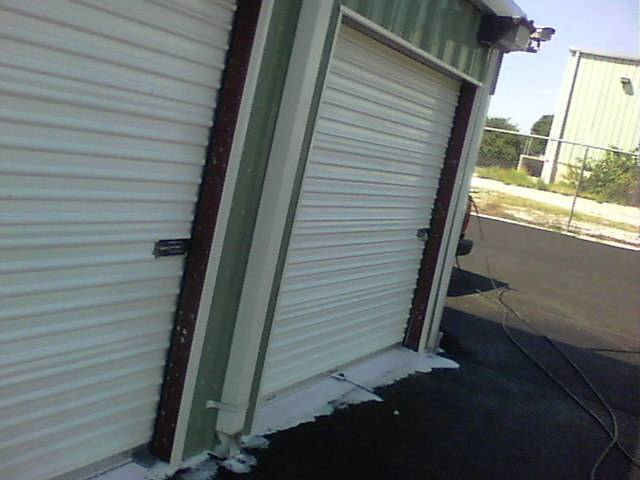 Storage unit cleaning