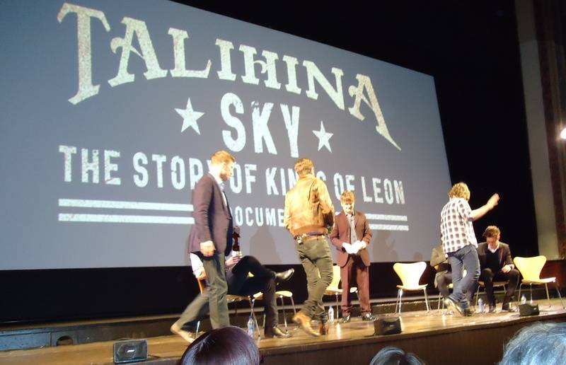 Premiere of Talihina Sky, Edinburgh (25 Jun 11)