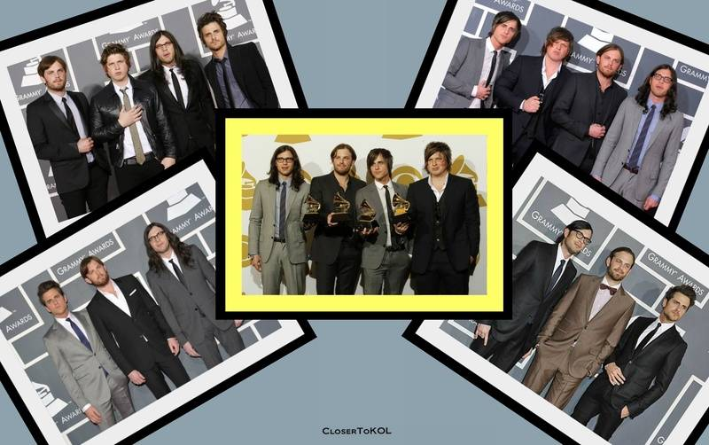 Kings of Leon at the Grammys over the years (2009 ~ 2012)