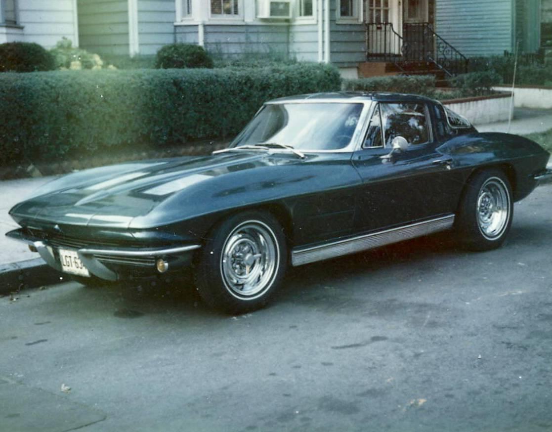 Duke & Chris Casalieiz; 1963 Split Window Coupe