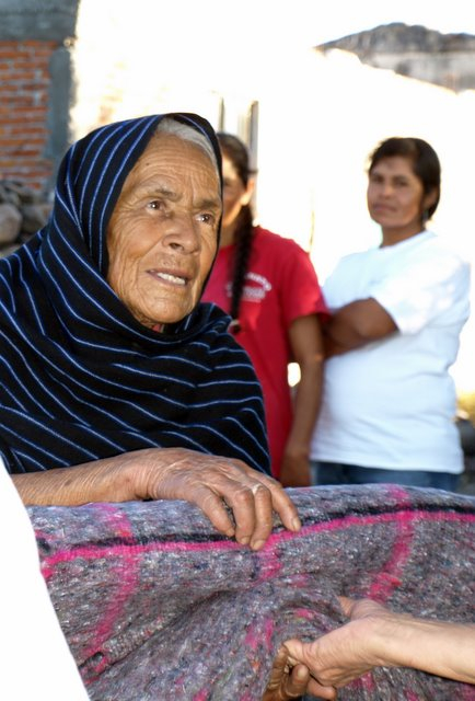 Blanket Recipient in Sosnabar