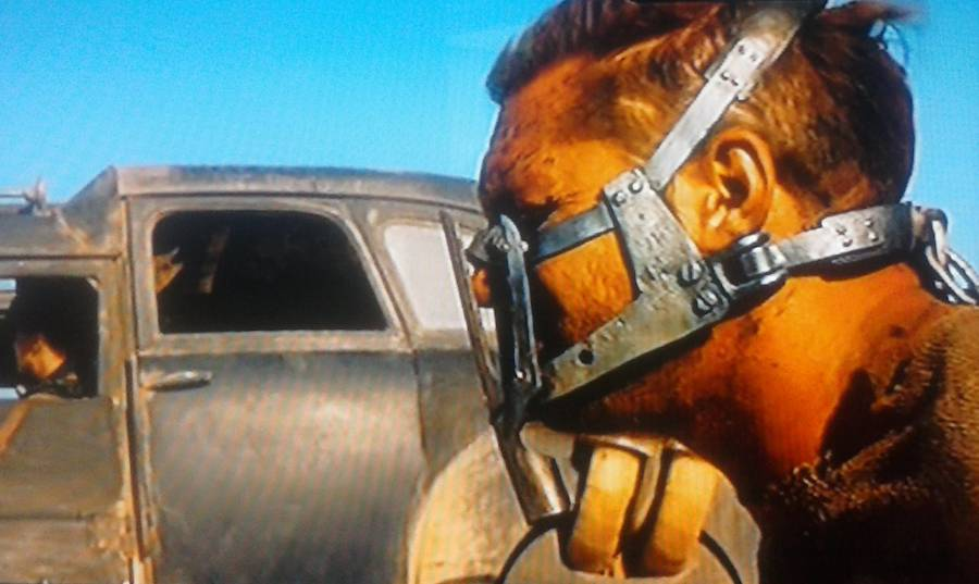 Max's muzzle as it appeared in 'Fury Roa