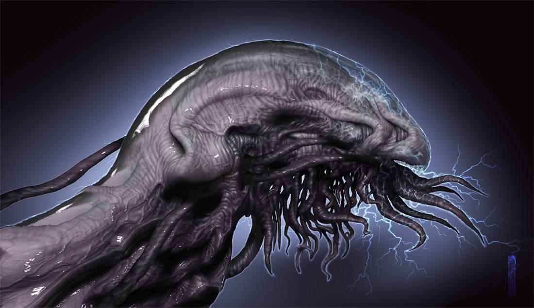 Electric eel alien 1