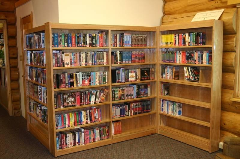 Video Shelves