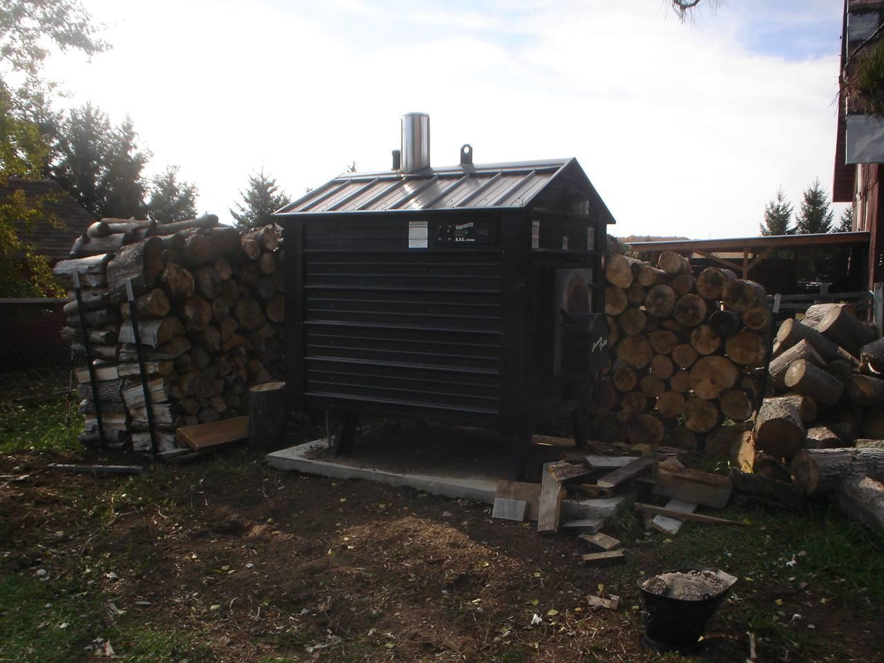 The woodstove