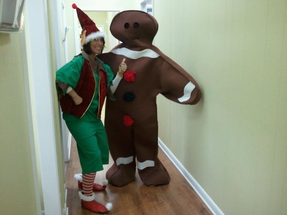 Elf & Gingerbread Man