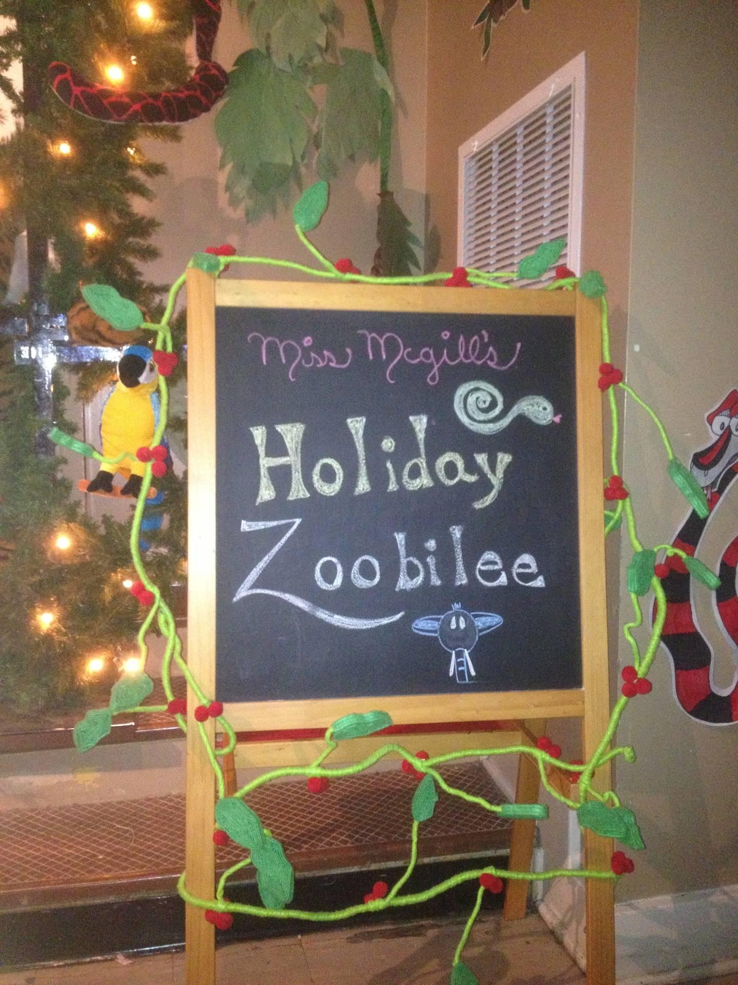 Miss McGill's 2nd Grade Zoobilee