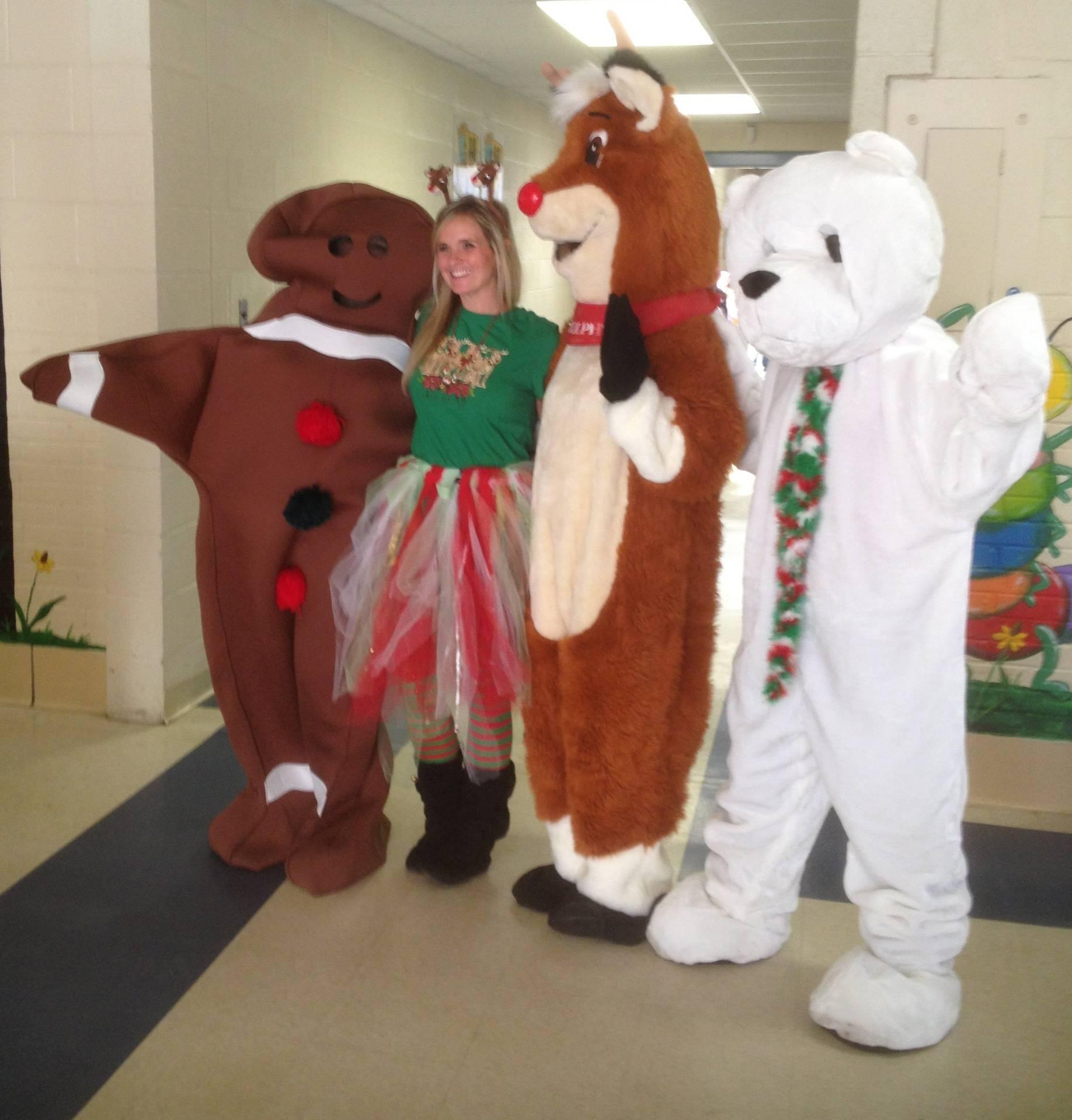 Visiting Christmas Parties @ School