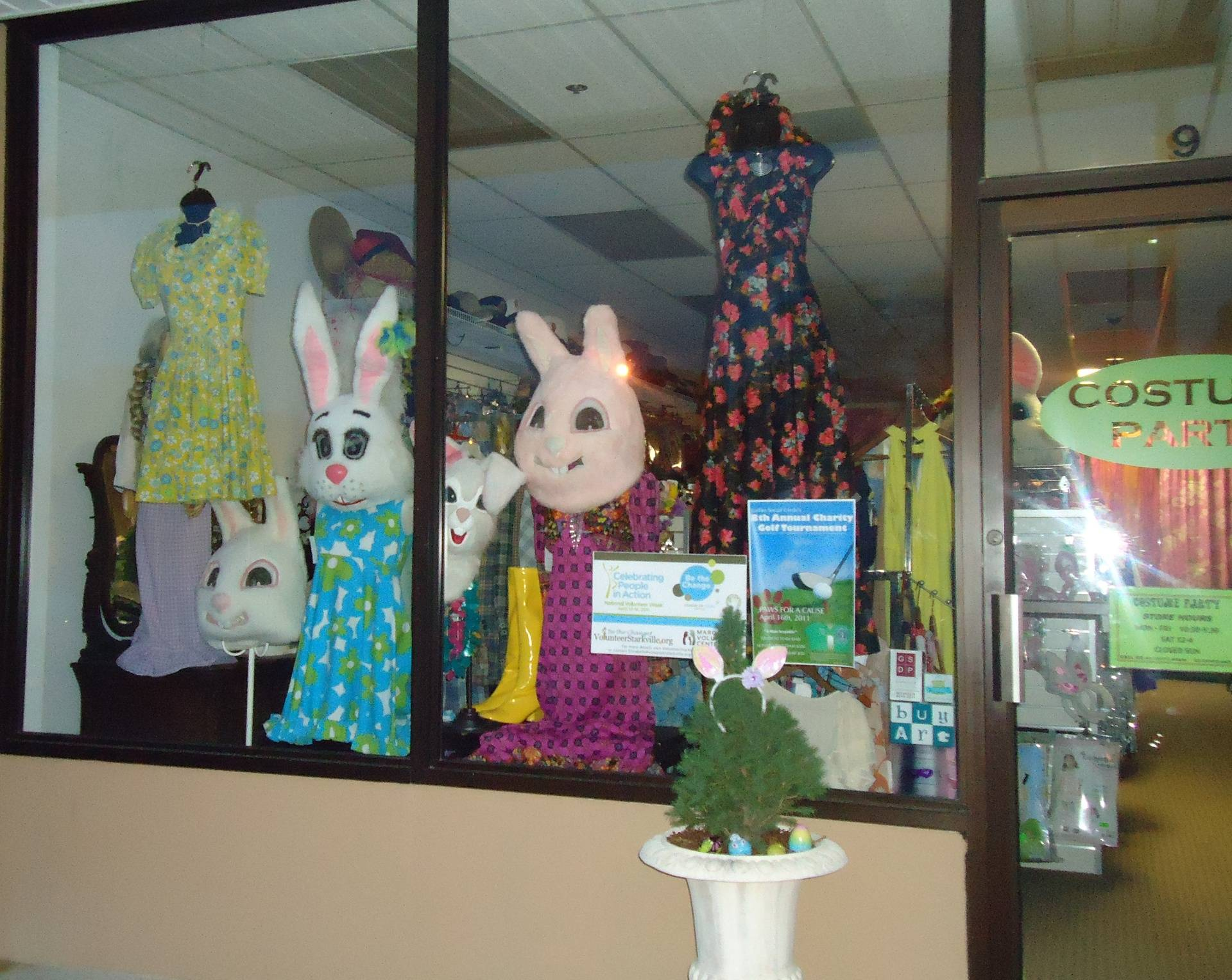 Easter/Spring Window