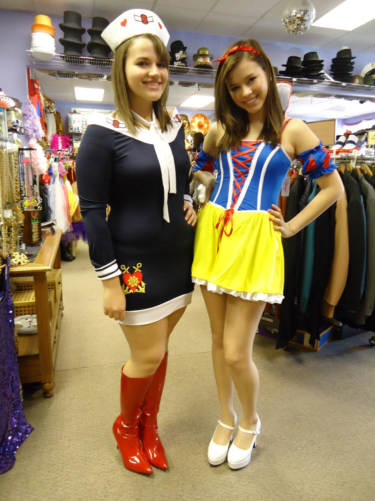 Sailor & Snow White Sexy Version