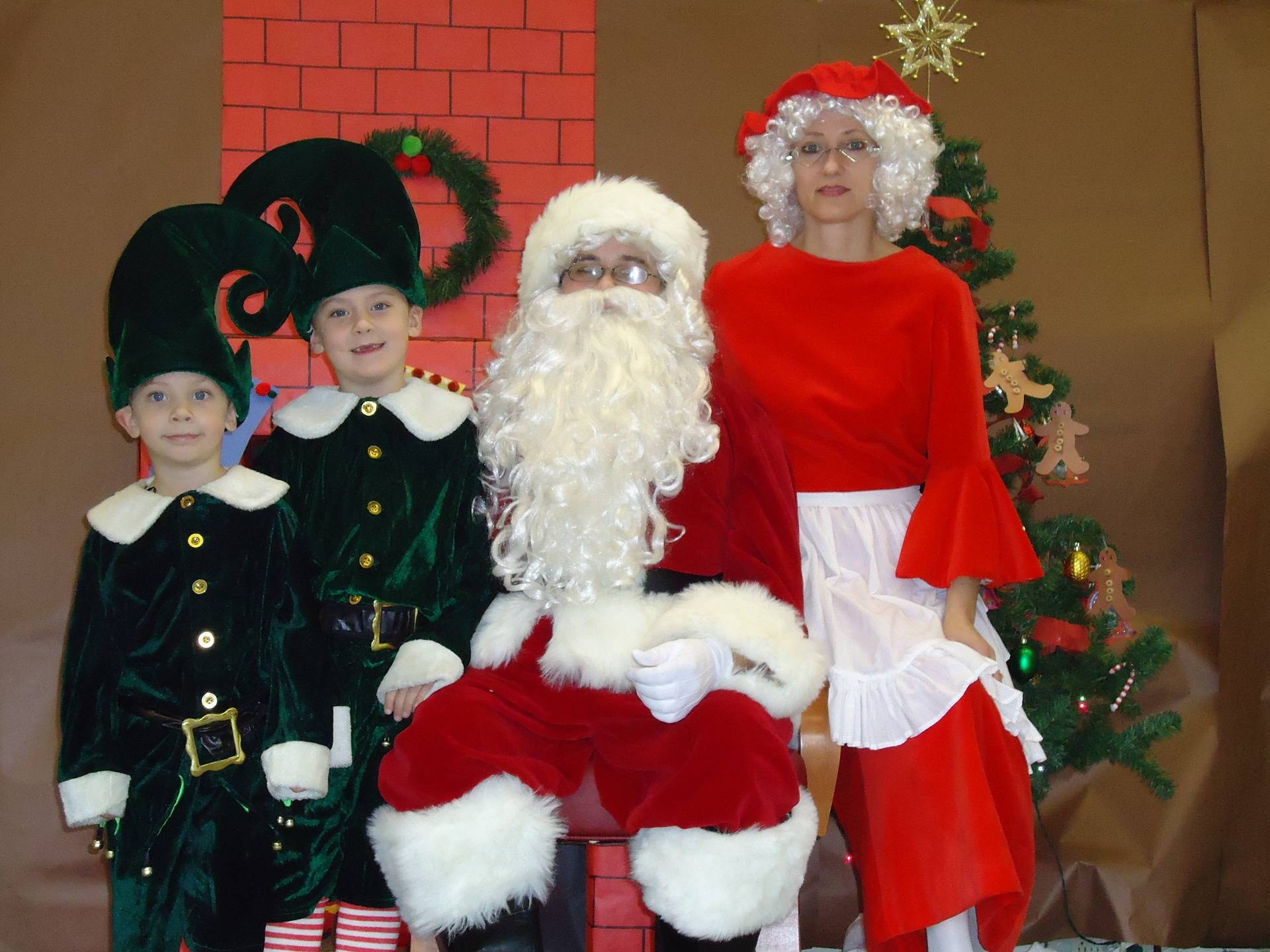 Christmas Costumes!
