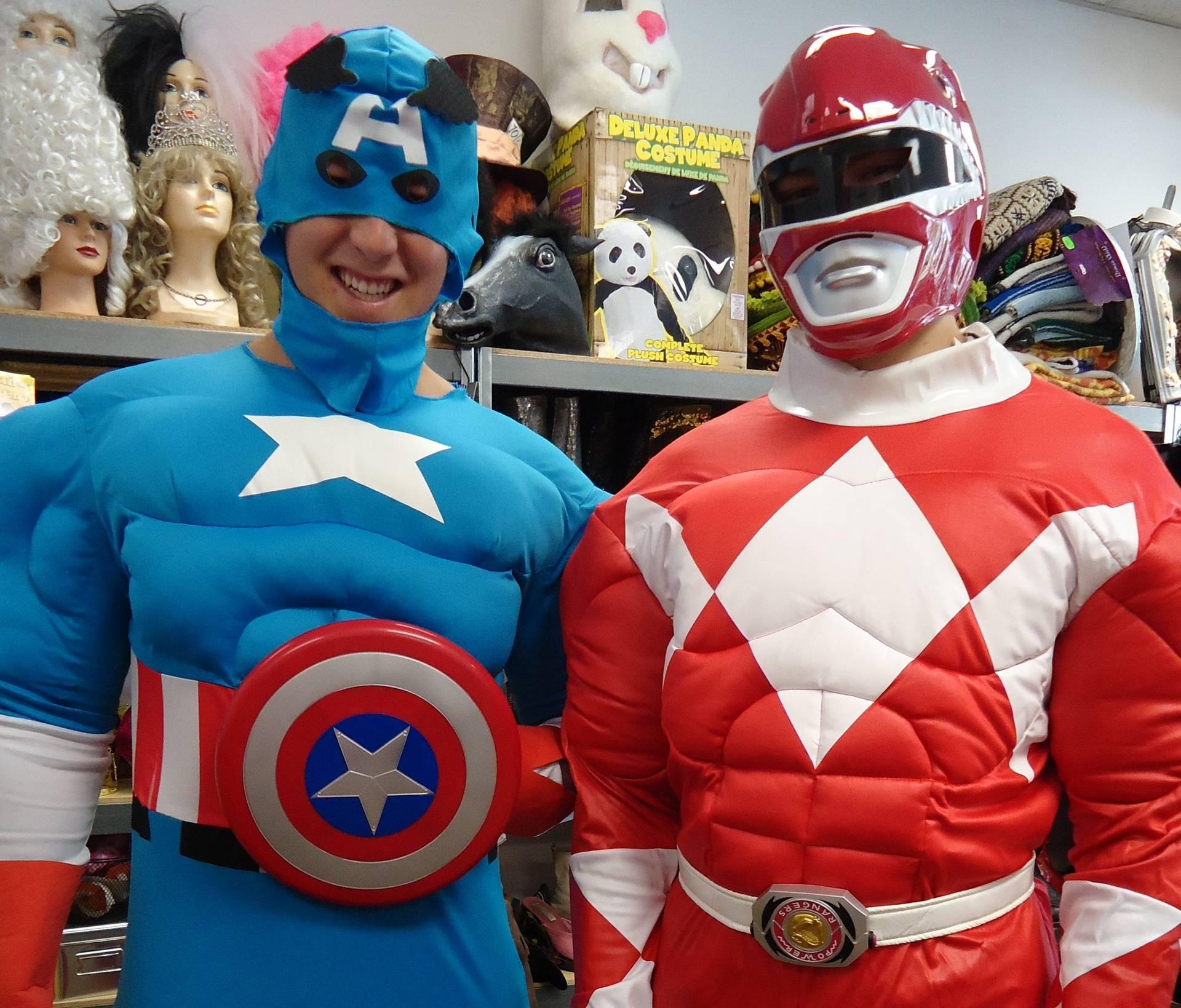 Super Heroes aka MSU Football Players