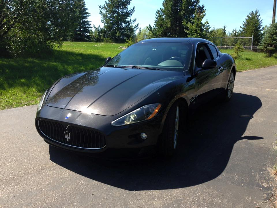 Maserati GranTurismo leaves after a no-start diagnosis and seasonal maintenance