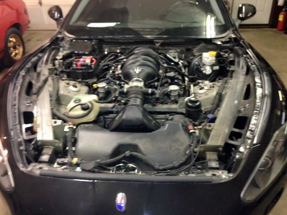 2009 Maserati Granturismo in for Diagnostic/ Engine work