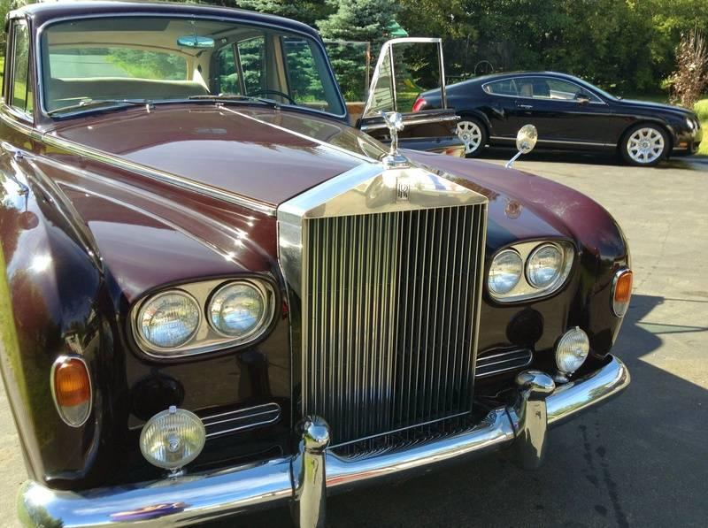 Phantom V and Continental GT