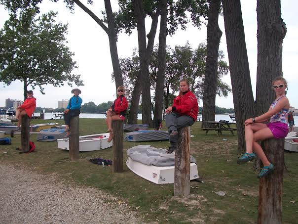 The Crescent Girls of Sailing!