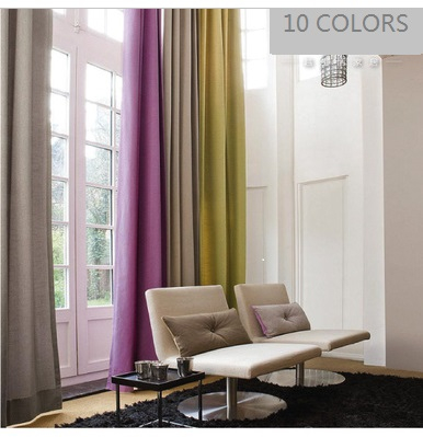 Cotton/ Linen Curtain Panels 50W X 132L