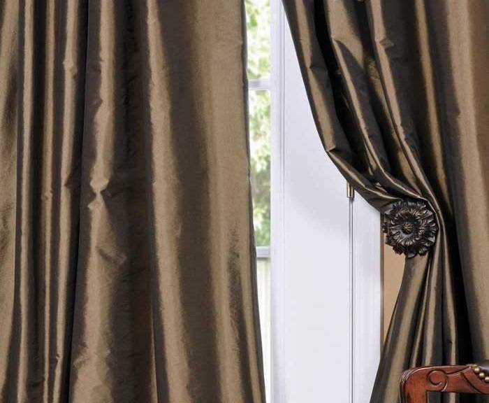 Faux Taffeta Thermal Curtains 54W X 96L