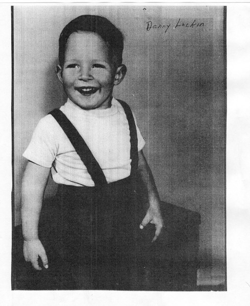 Danny as a toddler