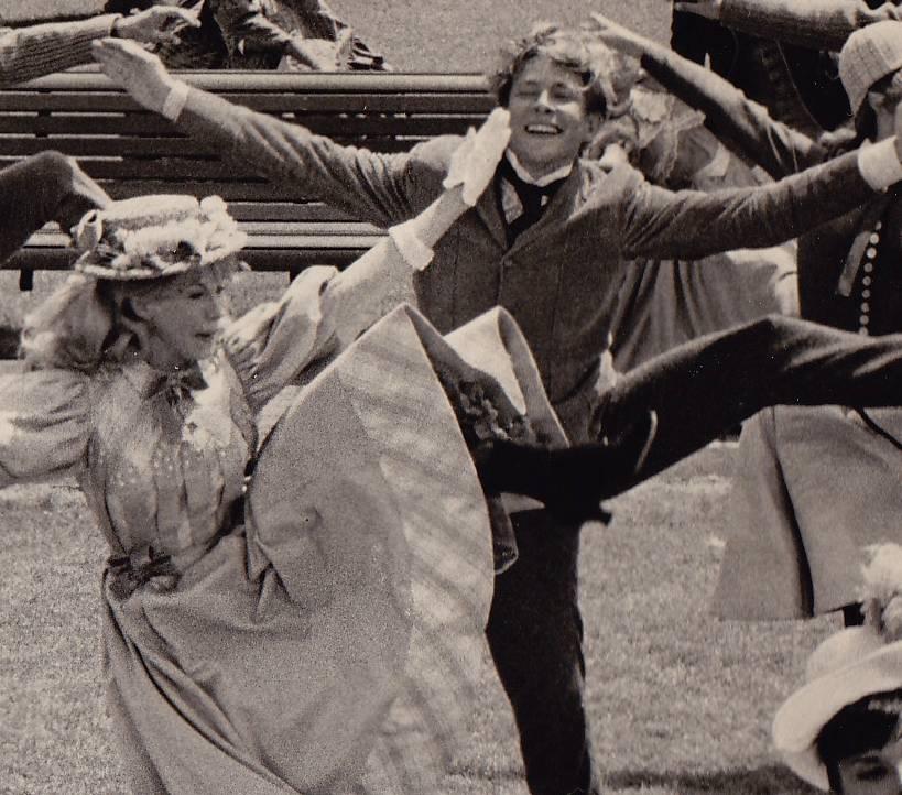 """Danny and EJ Peaker closeup """"Dancing"""""""