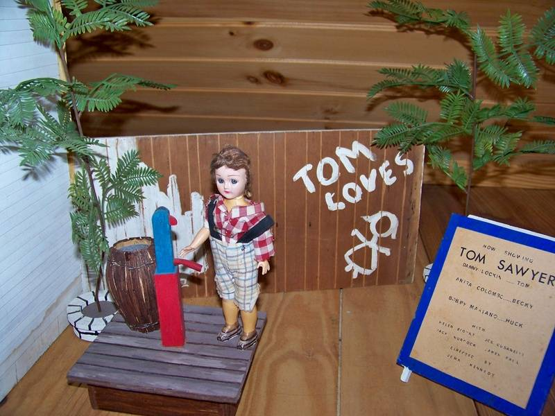 "display for Danny's play Tom Sawyer"" in St Louis"