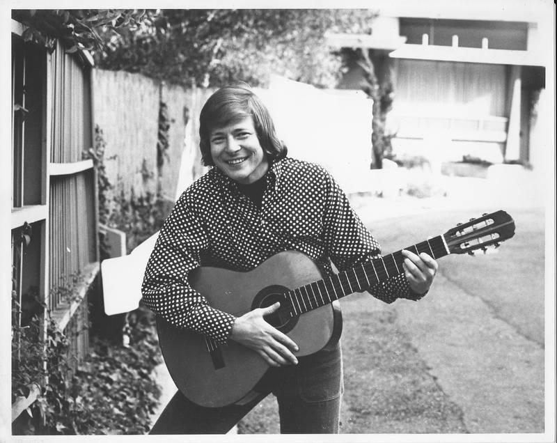 Danny on guitar