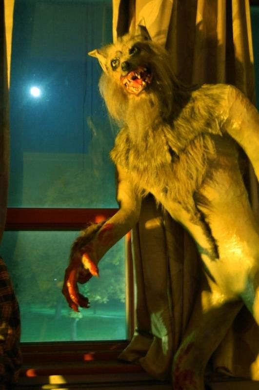 Man Wolf at Window