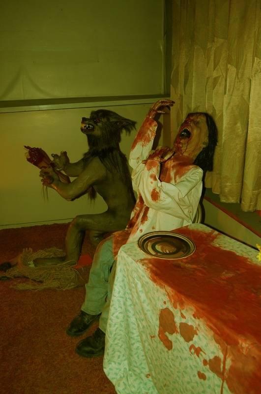 Werewolf Eating Man