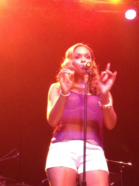 "Demetria McKinney Opens At Center Stage For The ""Dwele Concert"""
