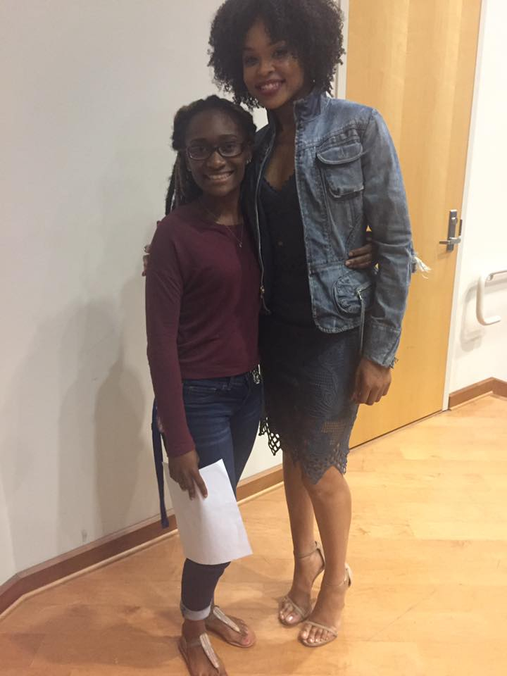Ramzee McGee-Williams and Demetria McKinney attend National Black College Alumni Hall of Fame Foundation, Inc. Legacy Lecture Series - Dillard University