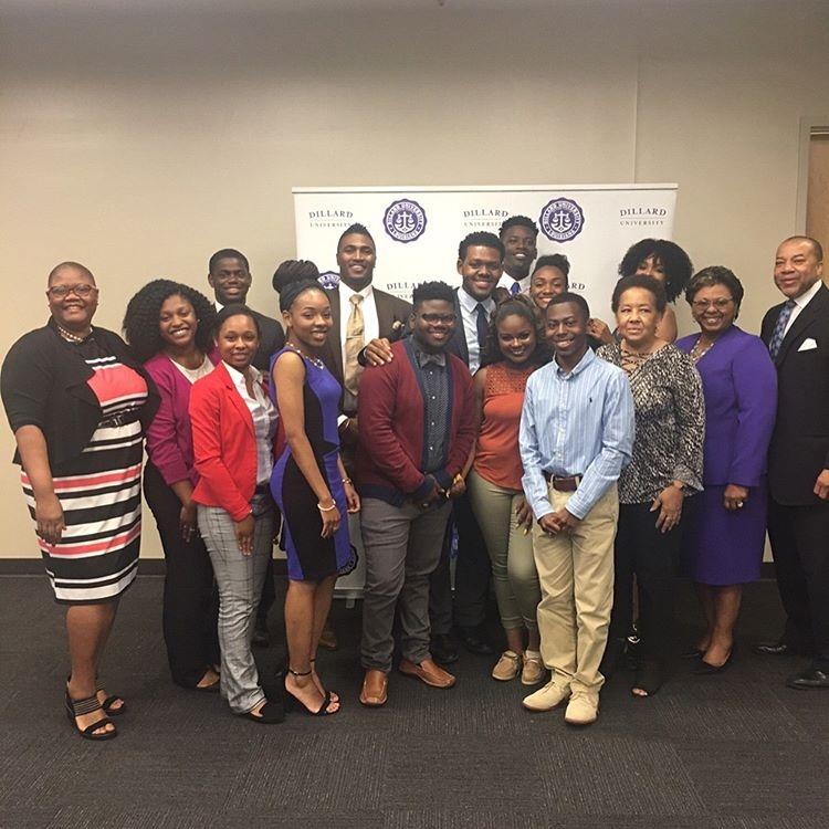 Demetria McKinney attend National Black College Alumni Hall of Fame Foundation, Inc. Legacy Lecture Series - Dillard University