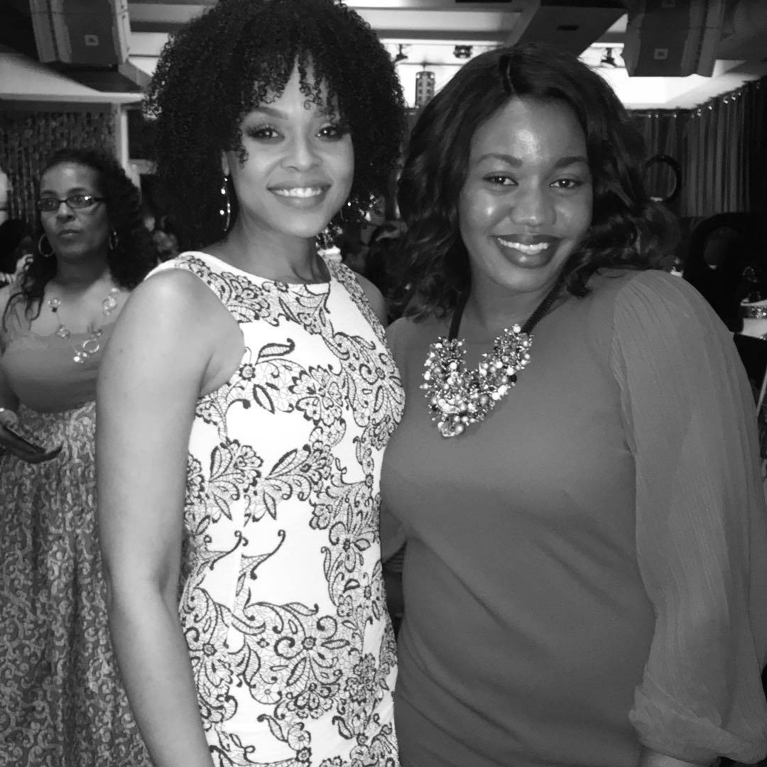 "Stephanie Owens attend Demetria McKinney's 2nd Annual ""Because Of You"" Pre-Mothers Day Brunch"