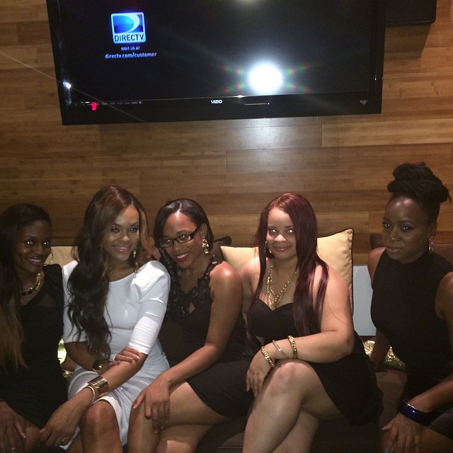 """Chelby, Demetria McKinney, Iesha Marie, Marika and Michelle attends KONTROL """"Fabulous At Every Age"""" Issue Release Party - Bar One"""