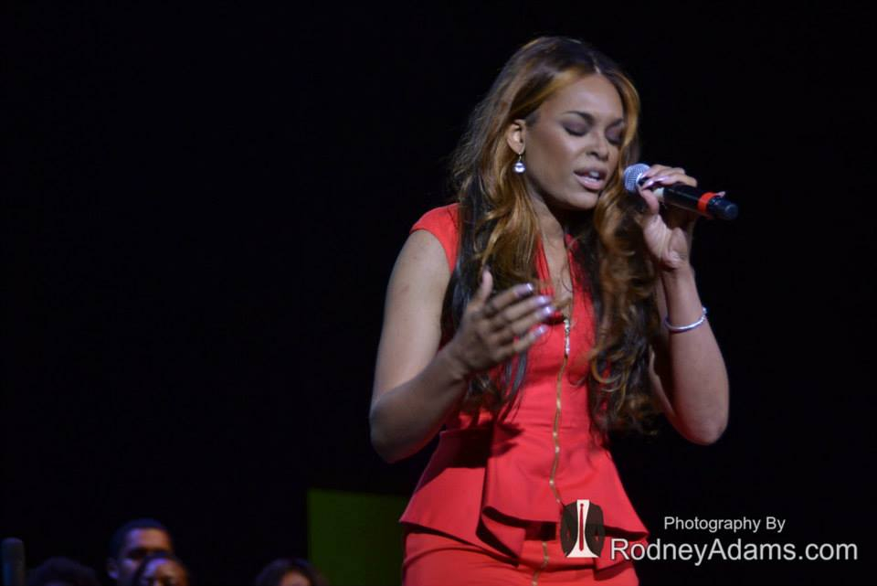 Demetria McKinney Performs At Rev. Dr. Joseph E. Lowery's 92nd Birthday Celebration