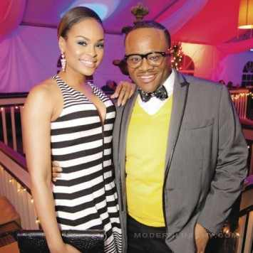 "Demetria McKinney & Satchel At ""Hawks Casino Night"" Charity Event"