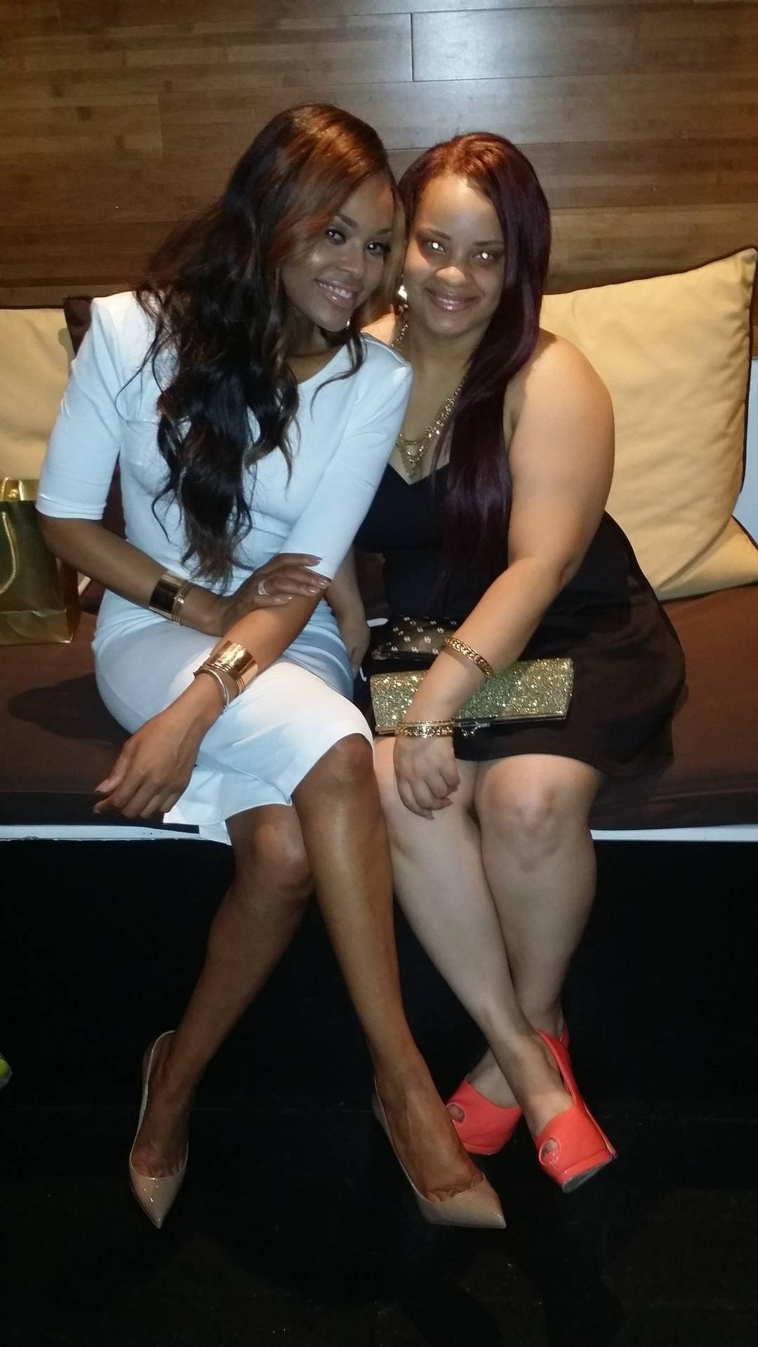 """Demetria McKinney and Marika attends  KONTROL """"Fabulous At Every Age"""" Issue Release Party - Bar One"""